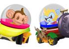 8台同時のデットヒート!3DS「スーパーモンキーボール 3D」対戦レースゲーム「モンキーレース」や「モンキーボール」新規ワールド情報を公開