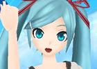 PSP「初音ミク -Project DIVA- extend」「積乱雲グラフィティ」ryo(supercell) feat.初音ミクのゲームバージョンPVを公開
