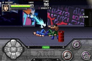 伝説の名作アクションゲームがAndroidによみがえる!「ダブルドラゴン」がGゲーに登場