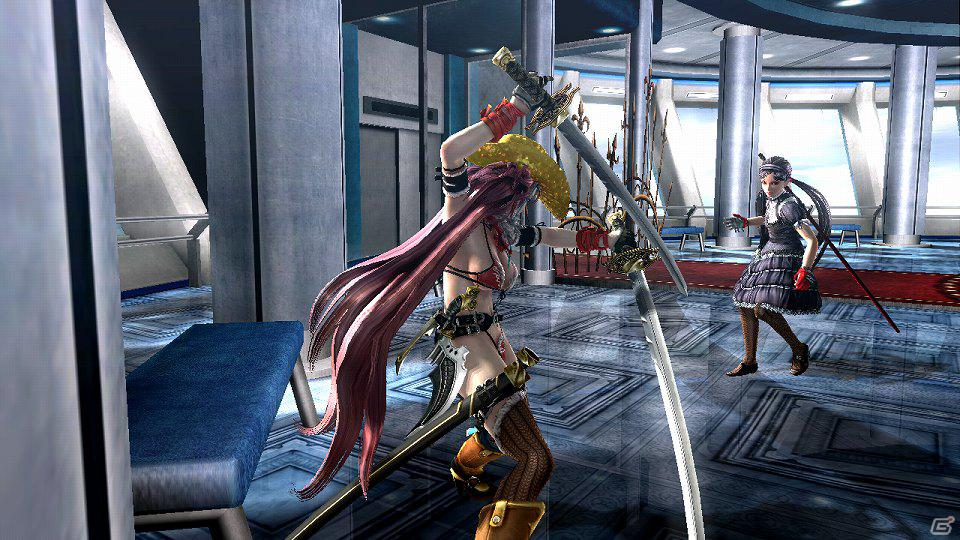 Xbox 360「お姉チャンバラZ ~カグラ~」今作最大の敵「彩」「咲」や「ニルヴァーナ」での武器のバージョンアップなどの情報公開