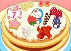 ドラえもんと一緒にケーキでお祝い!Android「ドラえもん『おめでとうケーキ』」配信開始