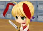 PSP「ねんどろいど じぇねれ~しょん」追加衣装「バニーセット」が配信中―可愛いうさぎちゃんになって殿方をメロメロに!?