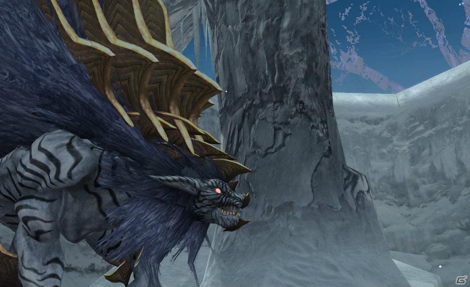 「ファンタシースターオンライン2」正式サービス時に追加されるフィールド「凍土」と登場するエネミーを紹介!