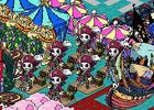 iOS「ゾンビカーニバル」6月13日より配信開始―ゾンビを集めて自分だけの楽園を創ろう!