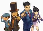 3DS「レイトン教授VS逆転裁判」アドベンチャーパート、裁判パートについての情報公開!早期購入者特典が特製アニメフィルム付きオリジナルサウンドトラックに決定