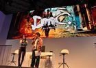【TGS 2012】「DmC デビル メイ クライ」真紅の両腕で敵を粉砕する新武器「エリクス」の威力とは?ニュース番組に入り込む新ステージやCGムービーも国内初公開
