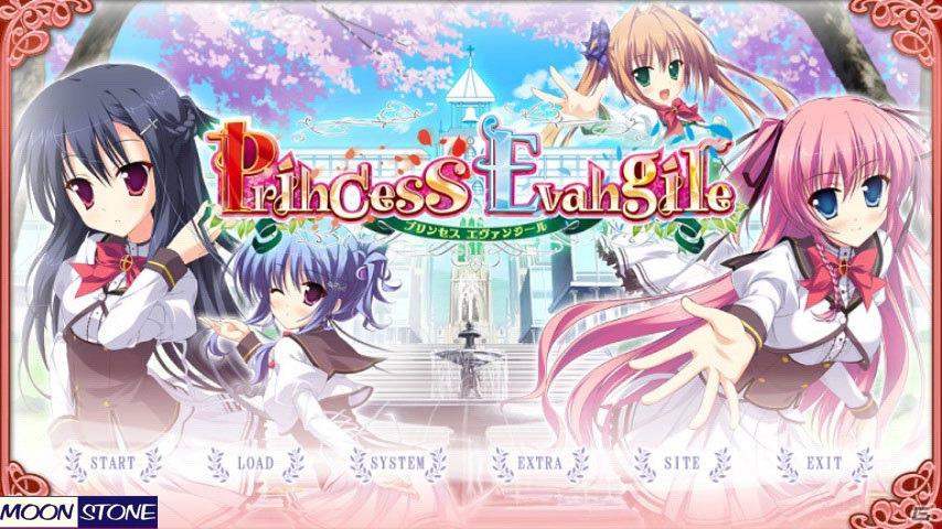 Android向けアドベンチャーゲームアプリ「Princess Evangile」が「萌えAPP」にて配信開始