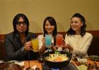 PS3「龍が如く5 夢、叶えし者」と「居酒屋はなこ」がコラボレーションした宴会コースが期間限定で販売!タレント・鈴木咲さんも訪れた試食会レポート