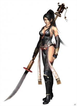 Wii U「NINJA GAIDEN 3: Razor's Edge」身の丈ほどの長大な薙刀を振り回す新キャラクター「紅葉」のコスチューム&トレーラーを紹介