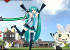 PS Vita「初音ミク -Project DIVA- f」DLC第2弾配信開始―新リズムゲーム用楽曲やトロとクロのお面などのカスタマイズアイテムがセットで登場