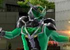 Wii/PSP「仮面ライダー 超クライマックスヒーローズ」のシークレットキャラクターとして登場する「仮面ライダーウィザード ハリケーンドラゴン」を紹介