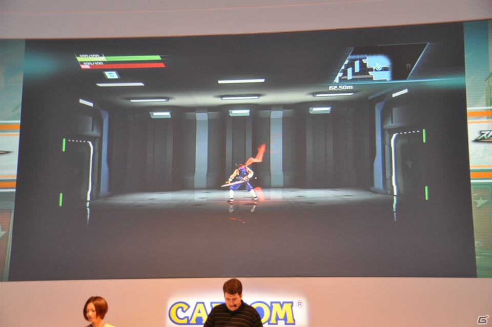 【TGS 2013】DNAとスピリットを完全継承した新生「飛竜」のスピーディーなアクションやあの姉妹との戦いを実機プレイで紹介!「ストライダー飛竜」ステージレポ