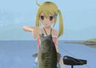 清水愛さんもキャラクターとして参戦するPS Vita「レッツ トライ バスフィッシング フィッシュオン ネクスト」DL版が800円にプライスダウン