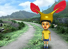 3DS「こびとづかん こびとの不思議 実験セット」早期購入者特典として幸せを呼ぶコビトとして大人気の「ホトケアカバネの帽子」が付属
