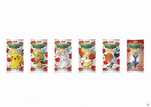 「ポケットモンスター XY」とダイドードリンコがコラボしたドリンク「ポケットモンスター アップル」「ポケットモンスター オレンジ」11月4日より発売