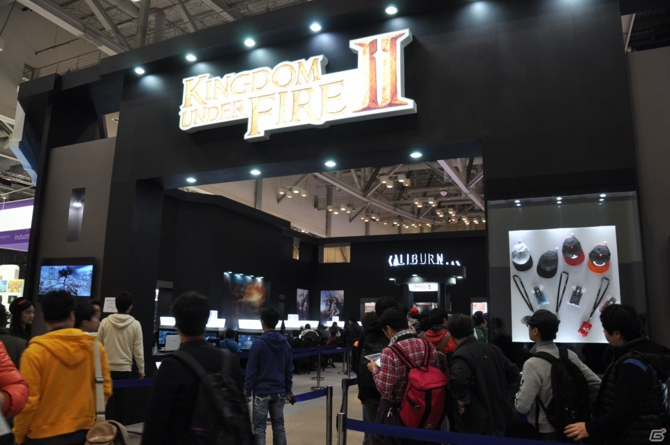 【G-STAR 2013】PlayStation4バージョンの開発が決定した「キングダムアンダーファイア2」がプレイアブル出展