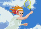 「スマッシュコート3」がPSNアーカイブスにて配信―1960年代調のレトロポップな世界でのテニスを楽しもう!