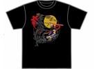 「ストライダー飛竜」和柄Tシャツブランド「むかしむかし」とのコラボTシャツの販売が決定