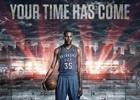 シリーズ最新作「NBA 2K15」のカバーアスリートにNBAレギュラーシーズンMVPを受賞したケビン・デュラント選手が起用