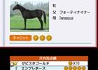 3DS「ダービースタリオンGOLD」インターレースへの参加方法である共有馬への出資、古馬の転厩を詳しく紹介!新たな種牡馬の情報も