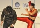 【UBIDAY2014】RENAさんが来場者に強烈な蹴りをプレゼント?開発者によるデモプレイも行われた「ファークライ4」ステージをレポート