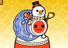 3DS「太鼓の達人 どんとかつの時空大冒険」楽曲ときせかえがセットになった「雪だるまつくろう」が期間限定で配信中!「人気曲+追加クエストパック5」も登場