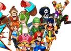 3DS「ワンピース 超グランドバトル!X」とamiibonoのコラボレーション紹介PVが公開―麦わらの一味が任天堂キャラのコスチュームでバトル!
