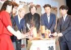 「戦国無双4-II」完成発表会をレポート!小西克幸さん&斉藤佑圭さんと共にライブ生中継から新年を祝した鏡開きまで!