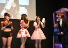 【JAEPO 2015】「進撃の巨人」のアーケードゲームプロジェクトも始動!?アイドル3人が真剣勝負をした「crossbeats REV.スペシャルゲーム大会 in JAEPO2015」をレポート