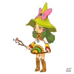 3ds 見習い魔女とモコモコフレンズ ゲーム内の3dモデルデータ 2dイラストデータの無料配布が開始の画像一覧 ゲーム情報サイト Gamer