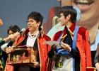 次長課長の井上聡さんや後藤真希さんがゲストで登場!僅差で勝敗が決まった「モンスターハンターフェスタ'15決勝大会」の模様をレポート