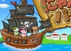 タッチ&スワイプで海賊たちを蹴散らそう!iOS/Android「にゃんこ de パイレーツ」が配信開始