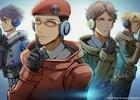 PS Vita「フリーダムウォーズ」プロパガンダアイドルより男性ユニット・貢献Guysがお披露目!LINEスタンプ、コスチューム、PSNアバターも配信