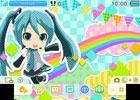"""3DS「初音ミク Project mirai でらっくす」BGMに""""はじめまして地球人さん""""のアレンジVerを使用したテーマ「でらっくす」が販売開始!"""