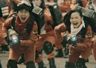 3DS「妖怪ウォッチバスターズ 赤猫団/白犬隊」芦田愛菜さん、鈴木福さんが巨大な妖怪に挑む実写TVCMが放送開始!