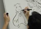 イラスト展示やグッズ販売などを行う「風来のシレン展」がオープン!キャラクターデザイン・長谷川薫氏によるライブペイントの模様もお届け