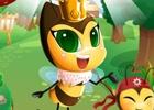 女王蜂ポリーと一緒にさまざまな世界を旅しよう!iOS向け一筆書きパズルゲーム「ぷるぷるハニー」が配信開始