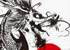 特別展「戦国図鑑-Cool Basara Style-」墨絵アーティスト・西元祐貴氏によるライブパフォーマンスが8月16日に実施