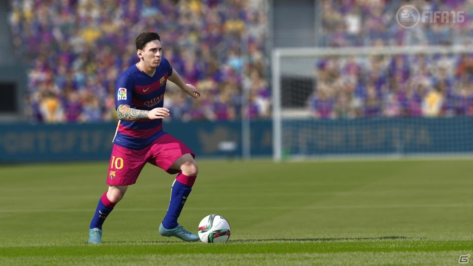 「FIFA 16」デモ版が9月9・10日に配信決定―にキックオフモード&FUTドラフトモードをプレイ可能