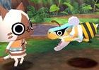 3DS「モンハン日記 ぽかぽかアイルー村DX」モンスターベビーたちの見た目が変化する新システムを紹介!「モンスターハンター4G」からの引き継ぎ特典も公開