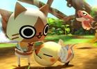 アイルー仲間と村づくり!3DS「モンハン日記 ぽかぽかアイルー村DX」が本日発売