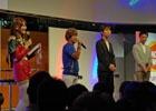 【TGS 2015】PS Vita「機動戦士ガンダム エクストリームバーサス フォース」古谷徹さんが実機プレイに挑戦!主題歌はT.M.Revolutionに決定