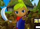 3DS「ゼルダ無双 ハイラルオールスターズ」海賊らしい素早い身のこなしで遠近両方で活躍する「テトラ」のプレイムービーが公開!