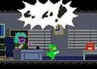 PC向け横スクロールアクションゲーム「ケロブラスター」がSteamにて配信開始
