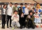 メインモンスターのヘッドバルーンが新宿に出現!井上聡さんと武井壮さんが駆けつけた3DS「モンスターハンタークロス」発売記念イベント