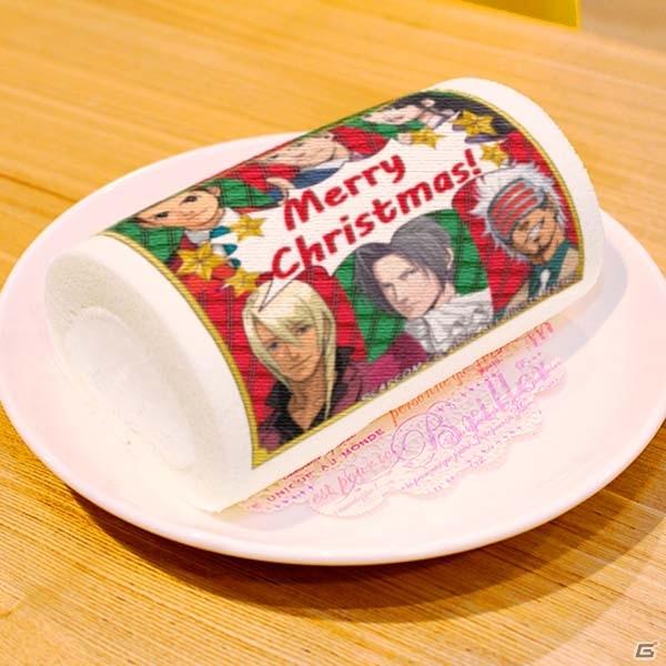 「逆転裁判」「大逆転裁判」「AIROU」のクリスマスケーキ&マカロンが登場!