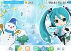 3DS「初音ミク Project mirai でらっくす」雪遊びに興じるミクたちがキュートなテーマ「Winter でらっくす」が販売開始