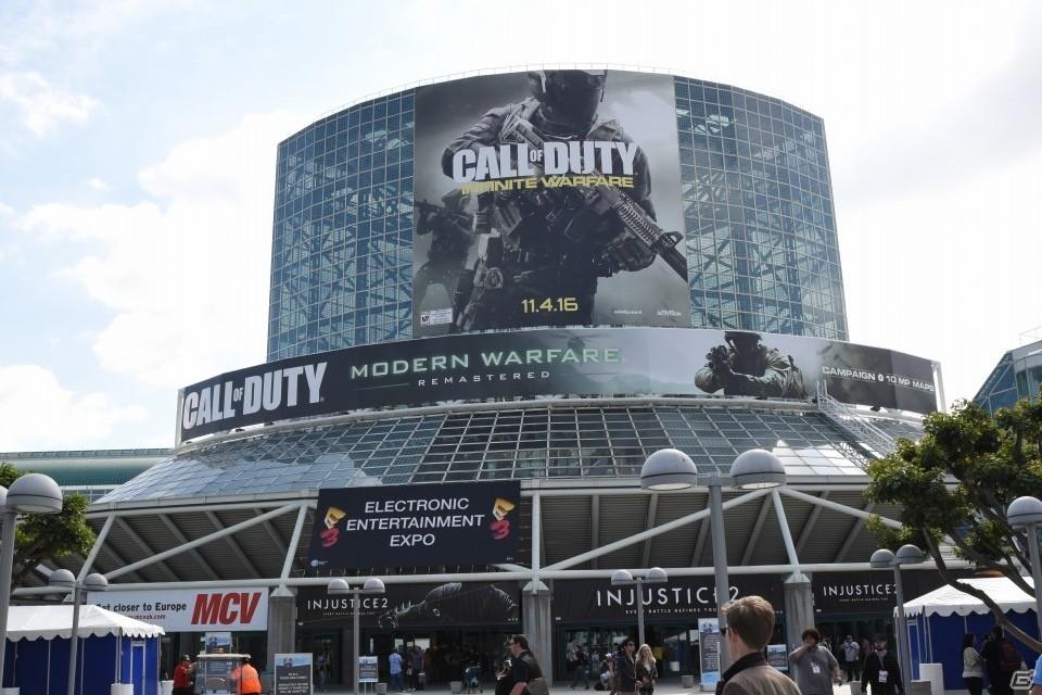 【E3 2016】開幕が迫る会場の様子を写真でレポート!各社カンファレンスは生中継でチェックしよう
