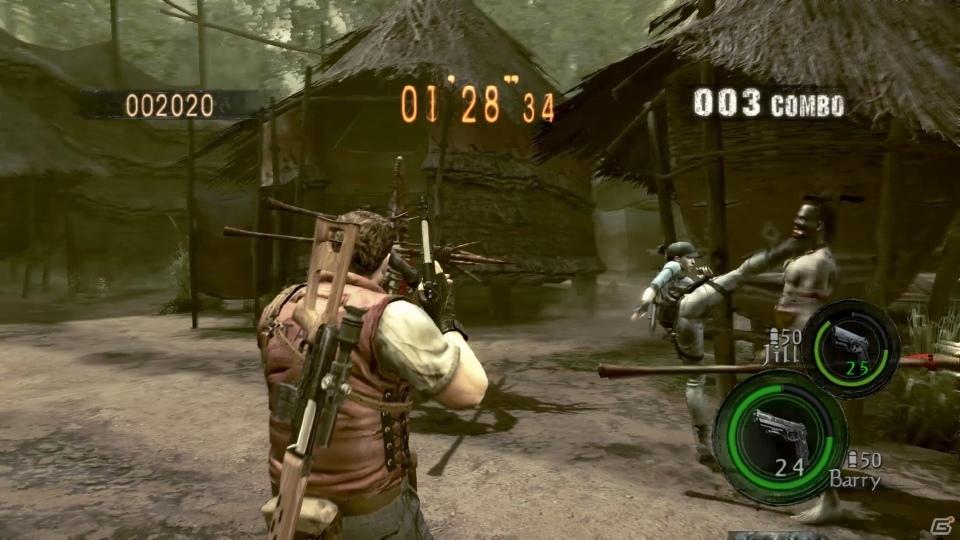 PS4/Xbox One版「バイオハザード5」が本日配信!最新機種に対応した解像度とフレームレートを4本の動画でチェック