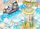iOS/Android「アイラブパスタ」夏のお迎えアップデートが実施―爽やかな海を感じるインテリアが登場!